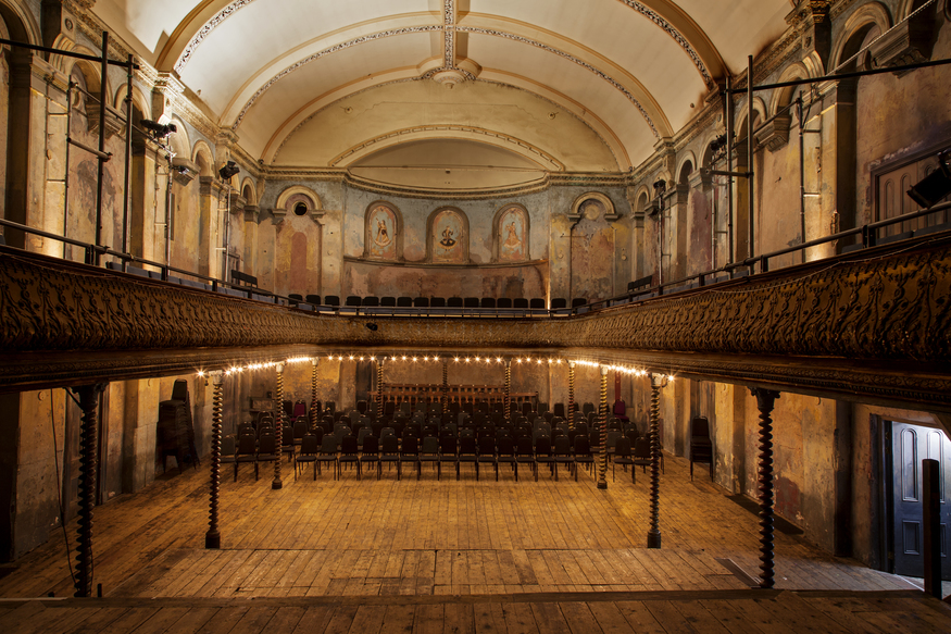 10 Beguiling Images Of London's Iconic Theatres... Totally Empty