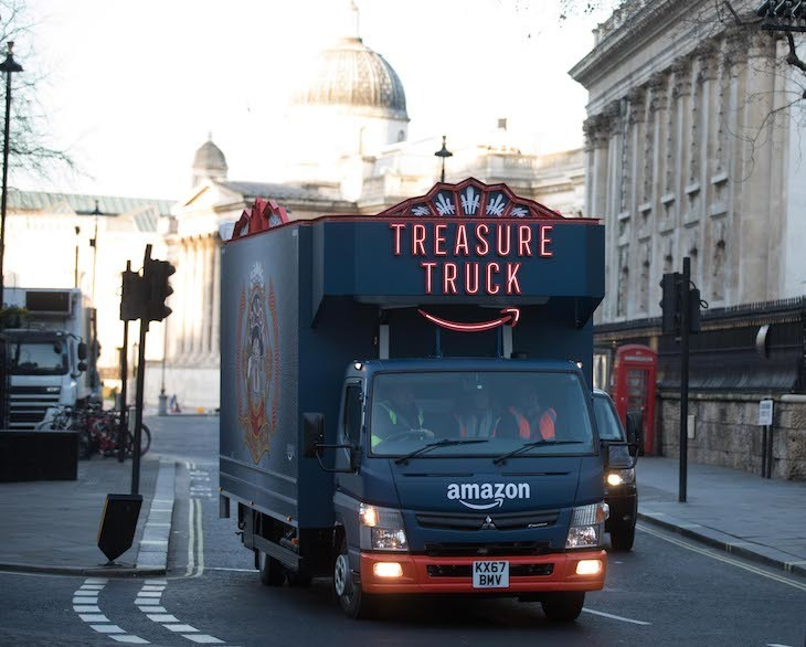 Amazon Treasure Trucks London