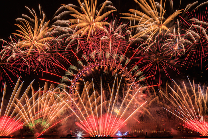 New Year's Eve fireworks: things to do on New Year's Eve in London