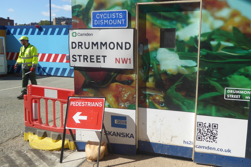 Why You Need To Eat On Drummond Street Before Its Too Late