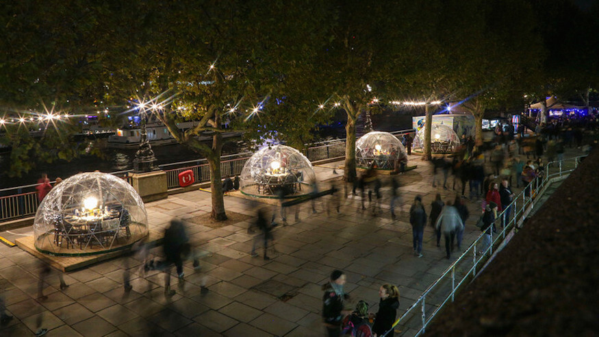 Those Twinkling Igloos By The Thames Are Returning This Winter