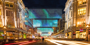 New Oxford Street Christmas Lights This Year - Here's When They're Switched On