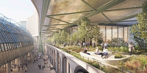 Elevated Garden To Run Alongside Waterloo Station