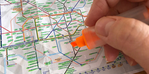 Do You Colour In The Tube Map To Remember Where You've Been?