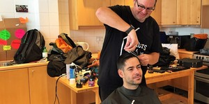 This Is Where London's Homeless Come To Get A Haircut