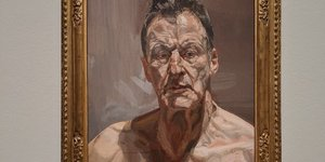 Revealing And Emotional Portraits By Lucian Freud Go On Display At Royal Academy