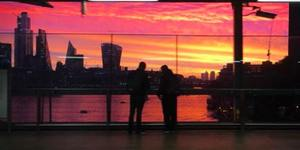 London Woke Up To A Stunning Sunrise This Morning - Here's What It Looked Like Across The City