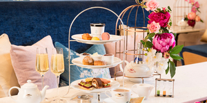 Clocks Away: Time Doesn't Quite Stop At This Flowery New Afternoon Tea