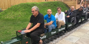 This East London Pub Has A Miniature Train In Its Beer Garden