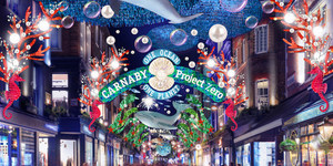 There's Something Fishy About Carnaby's Christmas Lights This Year