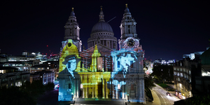 St Paul's Cathedral Is Breathtaking, Covered In These Thought-Provoking Illuminations