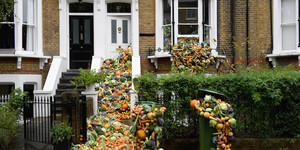 This House Was Covered In Vegetables To Raise Awareness Of The Food Waste Problem
