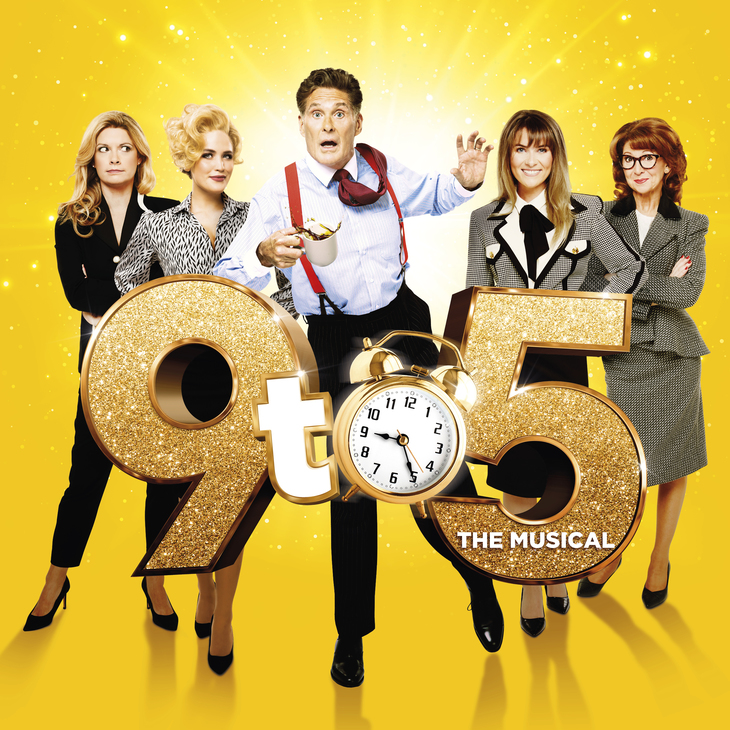 The cast of 9 to 5 the Musical