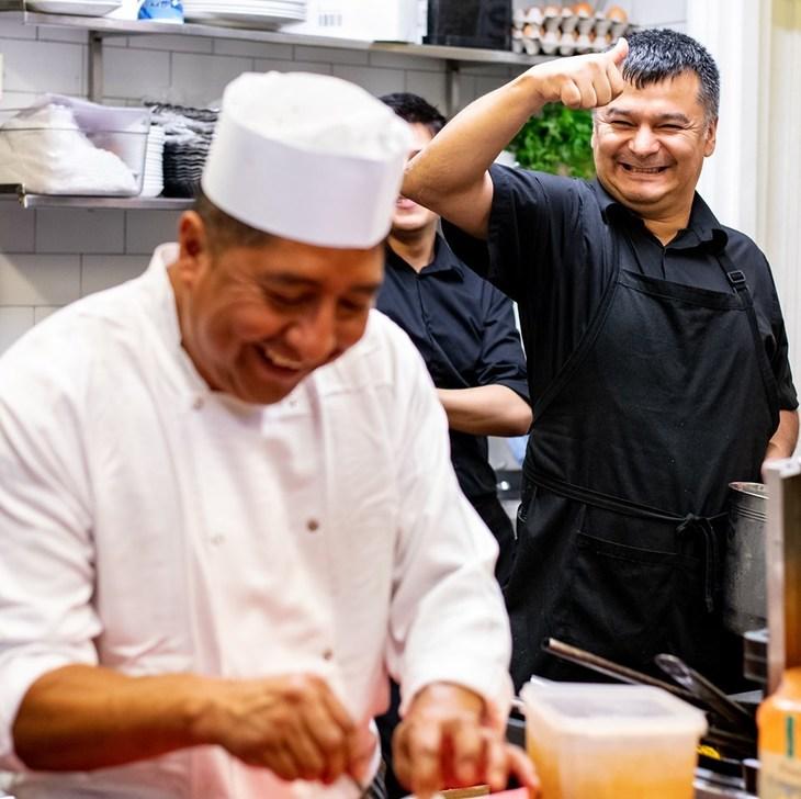 Chefs at El Pirata