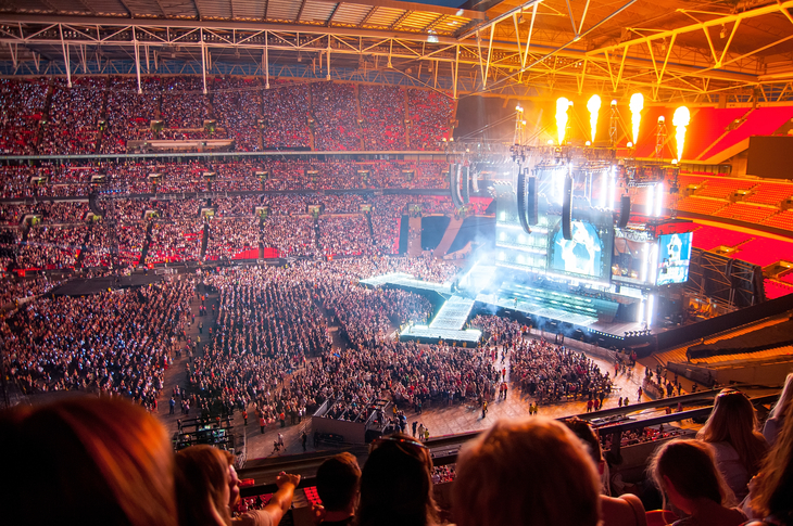 Taylor Swift at Wembley Stadium
