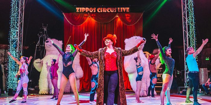 Zippo's Christmas Circus at Hyde Park Winter Wonderland: theatre shows in London for Christmas 2019