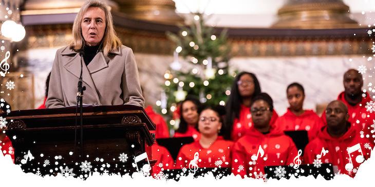 Anthony Nolan's Christmas carol concert at St Pancras Church