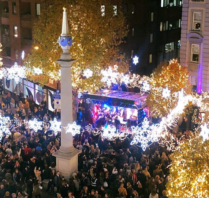 Christmas Event.The Seven Dials Christmas Lights Date Has Been Announced