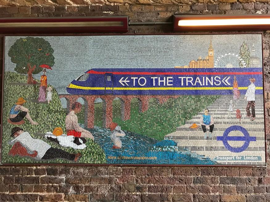 Waterloo mosaic