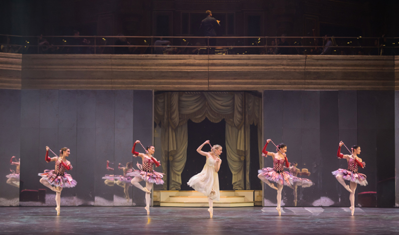 Birmingham Royal Ballet in David Bintley's Nutcracker at the Royal Albert Hall. Image: Annabel Moeller