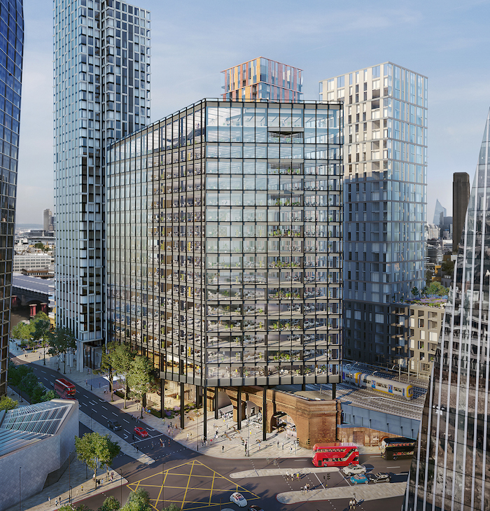 A 48-Storey Apartment Block Is Being Built Near Tate Modern