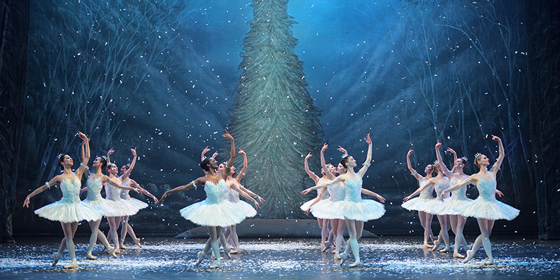 Artists of the English National Ballet in Wayne Eagling's Nutcracker (image: Laurent Liotardo)