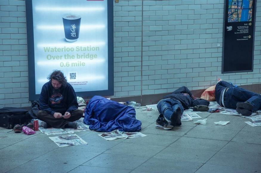 Sadiq Khan Doubles Budget For London's Homeless, While Accusing Government Of Not Doing Enough