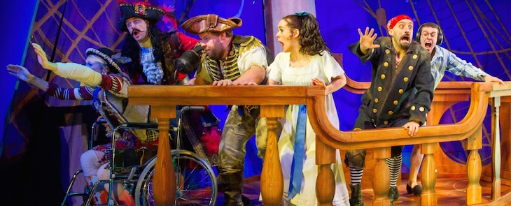 Peter Pan Goes Wrong at Alexandra Palace: theatre shows in London for Christmas 2019
