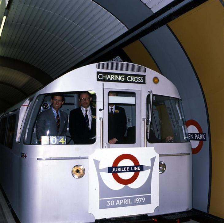 Ride A Vintage Jubilee Line Train On A Hidden Section Of Track