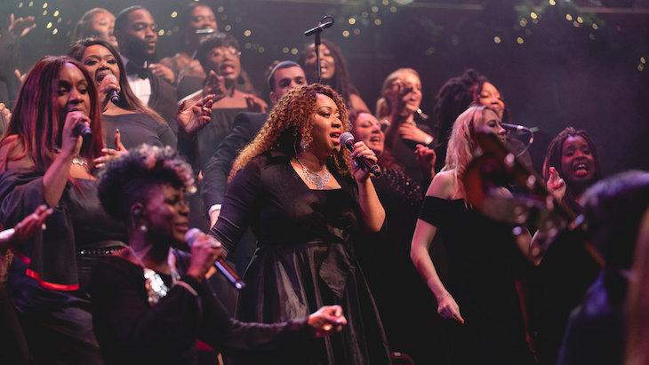 London Community Gospel Choir's Christmas carol concert at the Royal Albert Hall