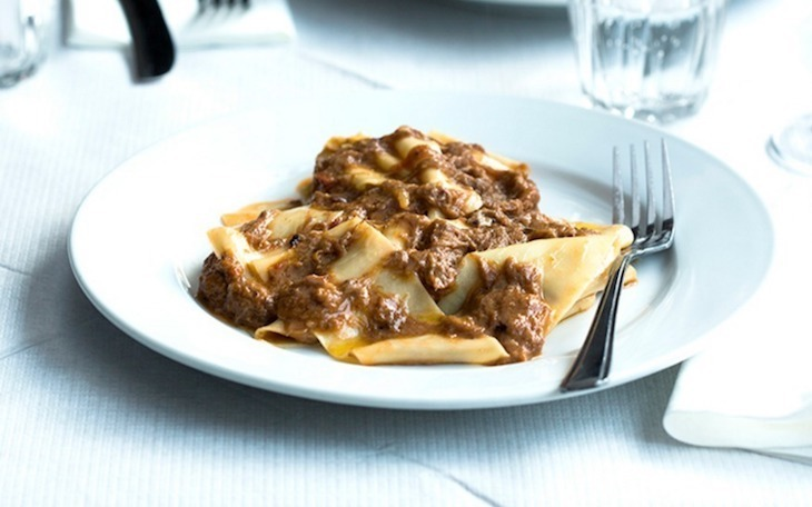 Beef shin ragu in all its glory at Trullo, one of London's best pasta restaurants