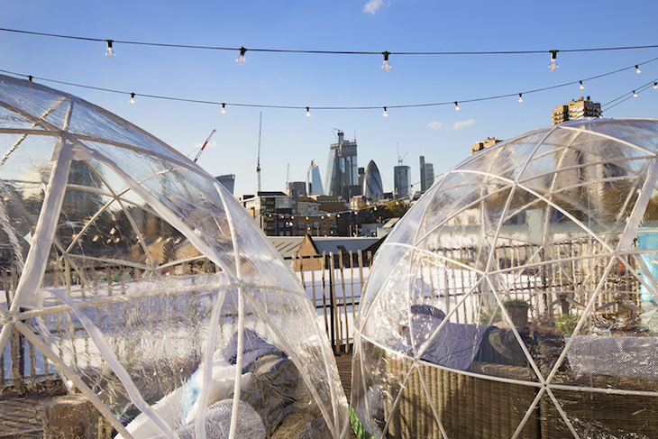 Hurrah! This Twinkling Rooftop Ice Rink Is Returning For ...