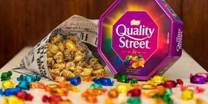A Soho Chip Shop Is Selling Battered Quality Street This Christmas