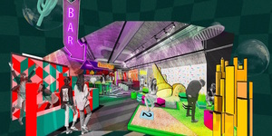 Tee Off At This New Crazy Golf Course At Battersea Power Station