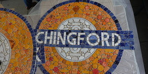 This Public Project Is Making Beautiful Roundels Out Of Mosaics
