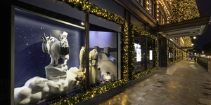 It's Beginning To Look A Lot Like Christmas At Harrods
