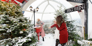 Admire London From Inside A Magical Snow Globe At The London Eye