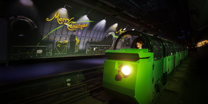 The Underground Mail Rail Ride Just Got A Christmassy Makeover