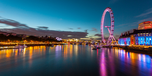 The London Eye Will Be Pink From February - But Haven't The New Sponsors Noticed The Unfortunate Rebrand?