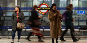 All The Roundels In Westminster Tube Station Just Got A Pan-African Makeover