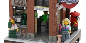 Someone's Made 'Brick Lane' Tube Station From LEGO