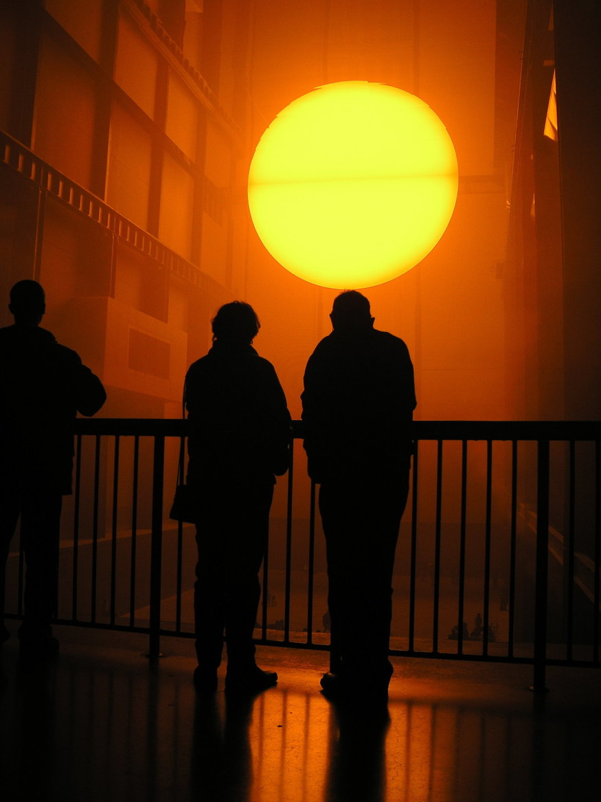 The Weather Project by Olifur Eliasson