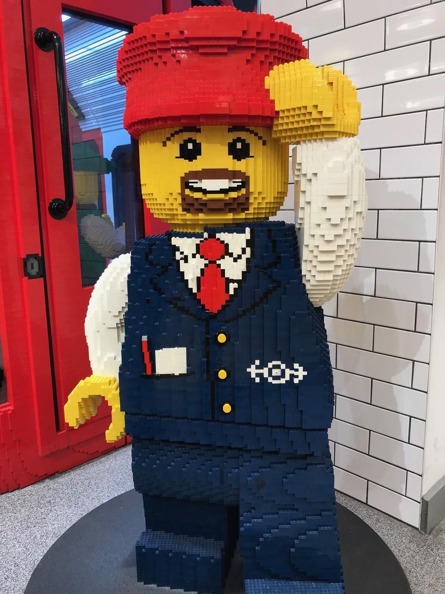 Lego tube driver
