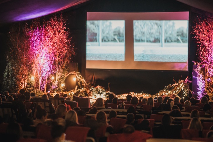 Where to watch Christmas 2019 films in London: The Winter Night Garden and The Snow Forest at Backyard Cinema, Wandsworth
