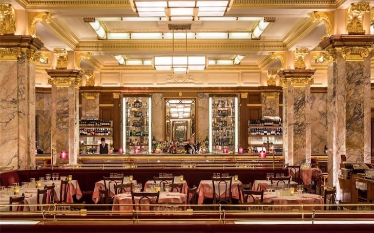 Cheap food in total luxury? Check out Brasserie Zedel in London