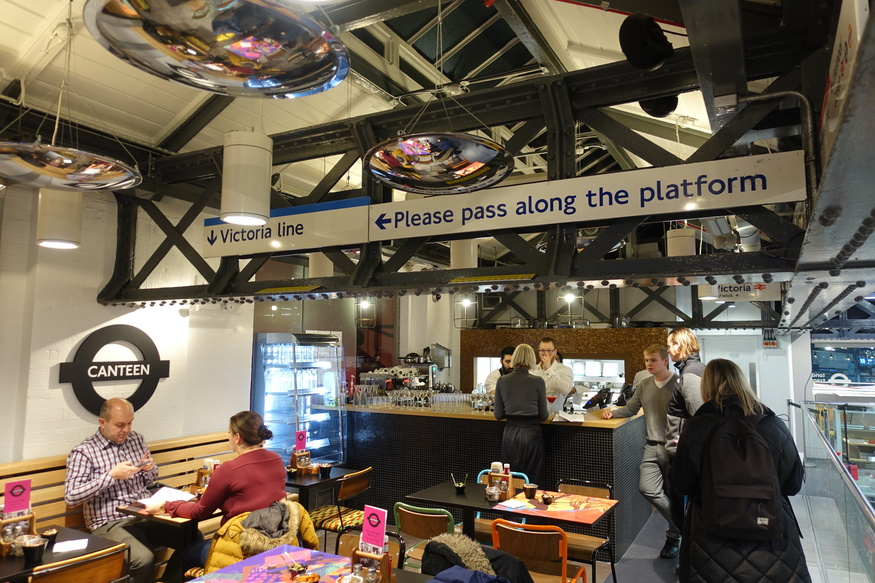 Canteen at London Transport Museum