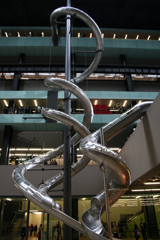 Carsten Holler's Tate slides