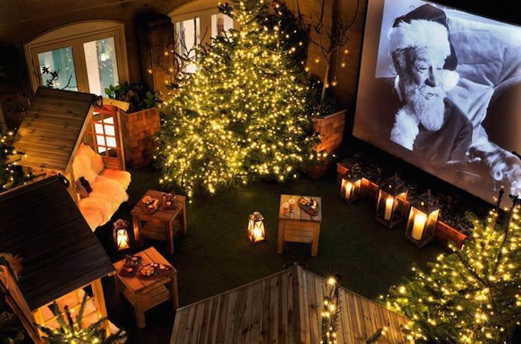 Where to watch Christmas 2019 films in London: Rooftop Winter Cinema At The Berkeley