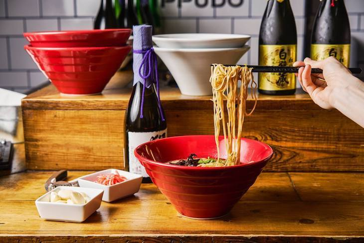 Head out for a Canary Wharf lunch at Ippudo