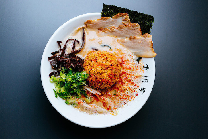 Eat ramen for a bargain at Kanada-Ya in London